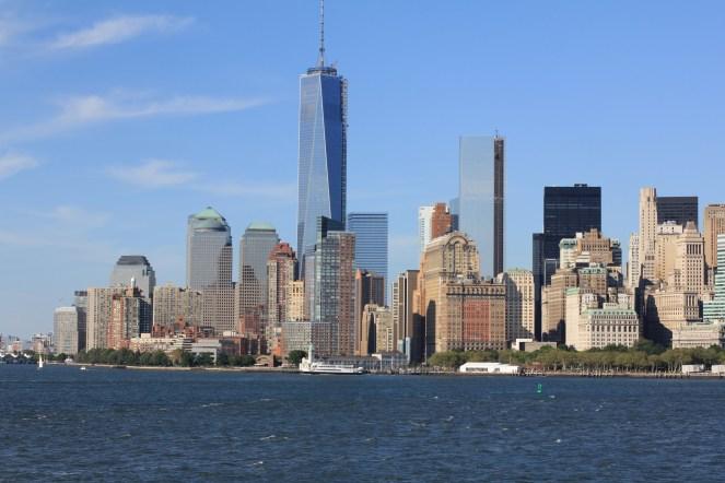 Manhattan from Staten Island Ferry