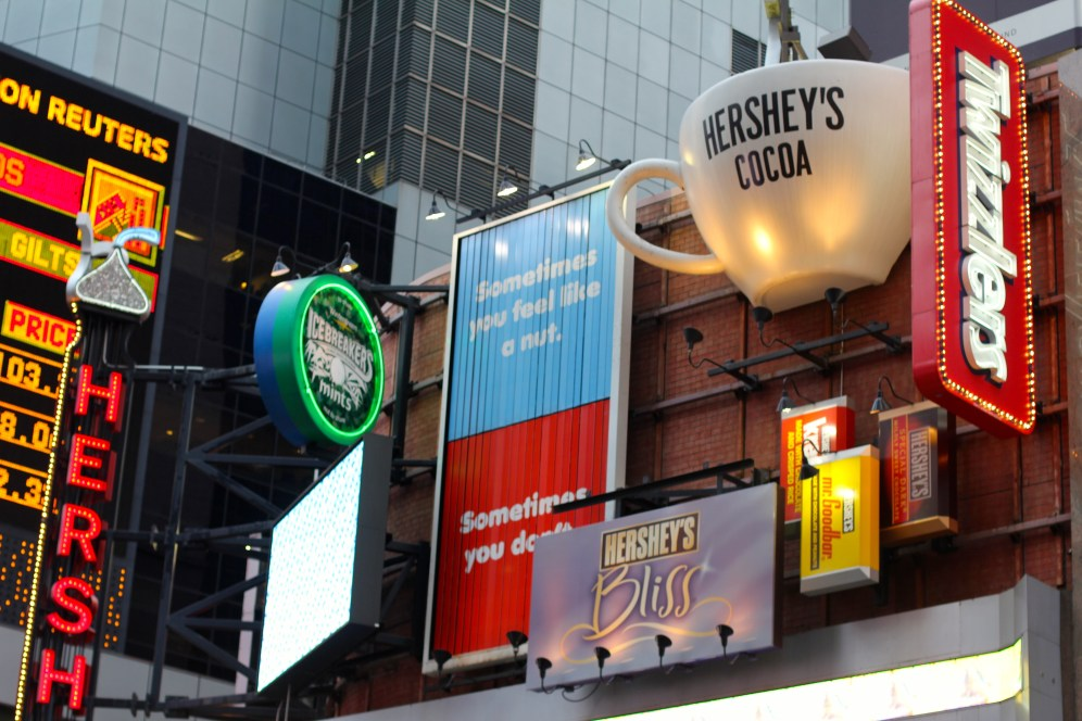 Everything Chocolate in Times Square