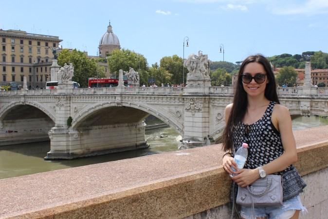 Shay at Ponte Sant'Angelo