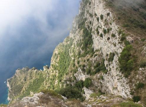 View from Mount Solaro, Capri