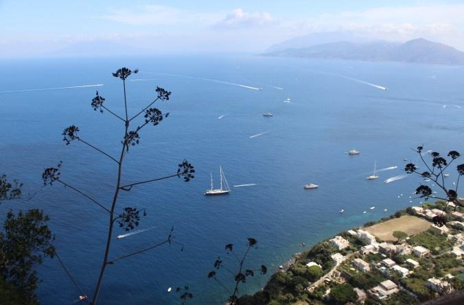 View of Capri from Anacapri