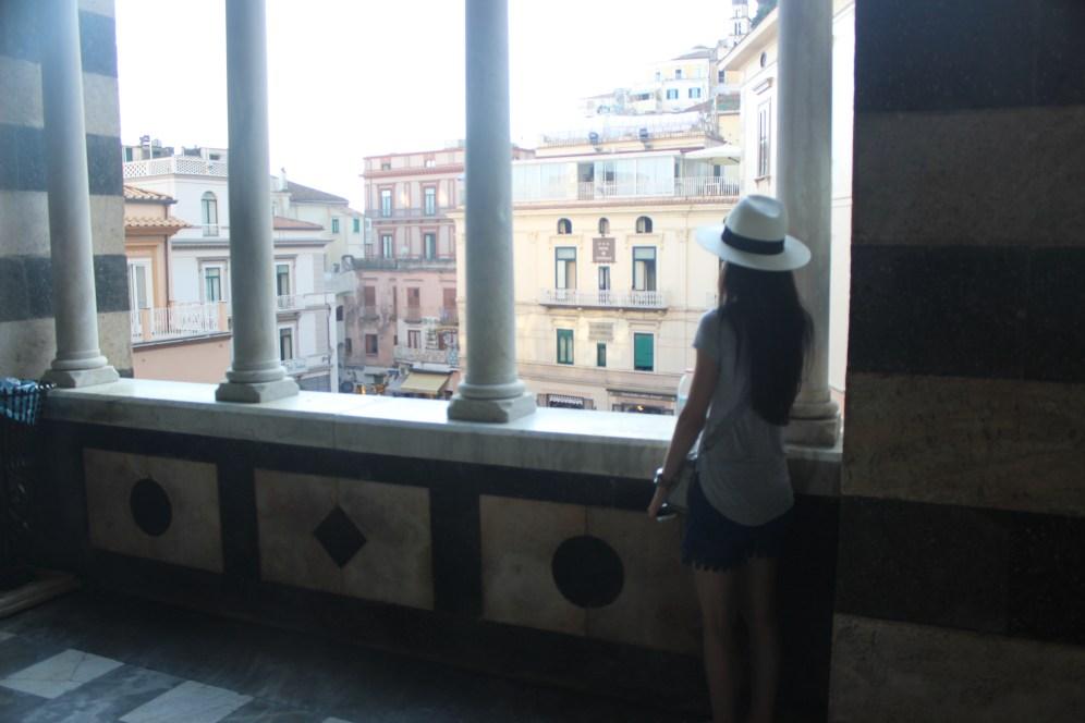Shay on Duomo Balcony