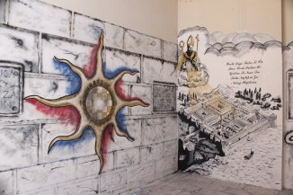 Split, Diocletian's Palace and Football Grafitti