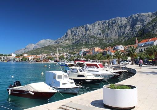 Makarska Boats, Croatia