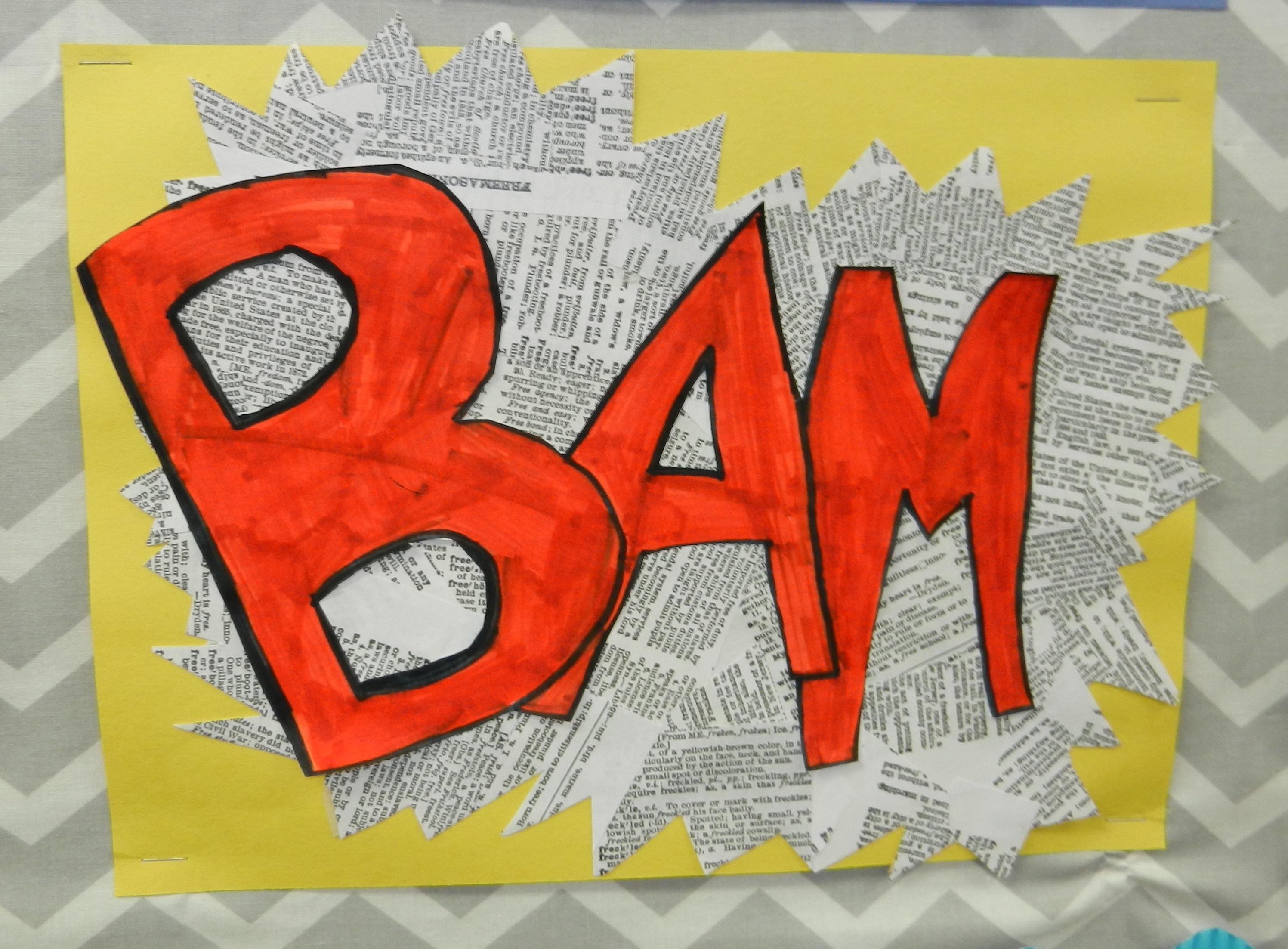 Onomatopoeia Art And Other Fun 5th Grade Activities