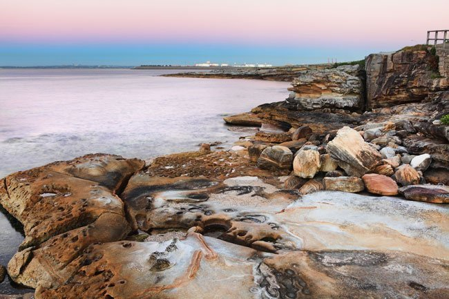 Botany Bay Australia where the First Fleet Arrived a few days before 26 January 1788.