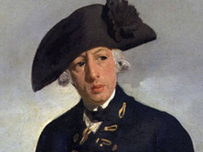 Captain Arthur Phillip, First Fleet of Australia