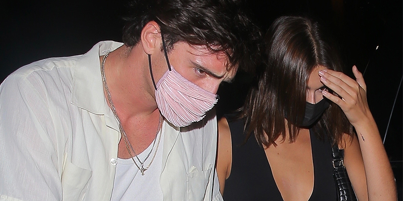 Photos: June 16 – Out for dinner in West Hollywood