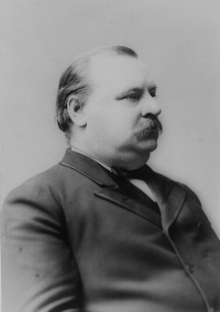 This man's defeat in the 1888 presidential election screwed up Obama's inaugural address