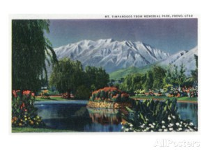 provo-utah-view-of-mount-timpanogos-from-memorial-park-c-1936