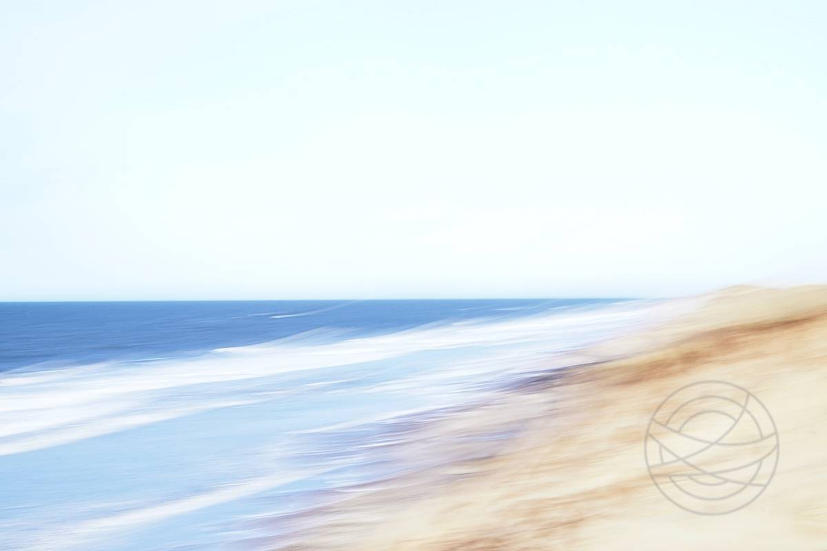 Enclosed By The Wind - Abstract realistic fine art seascape photography by Jacob Berghoef