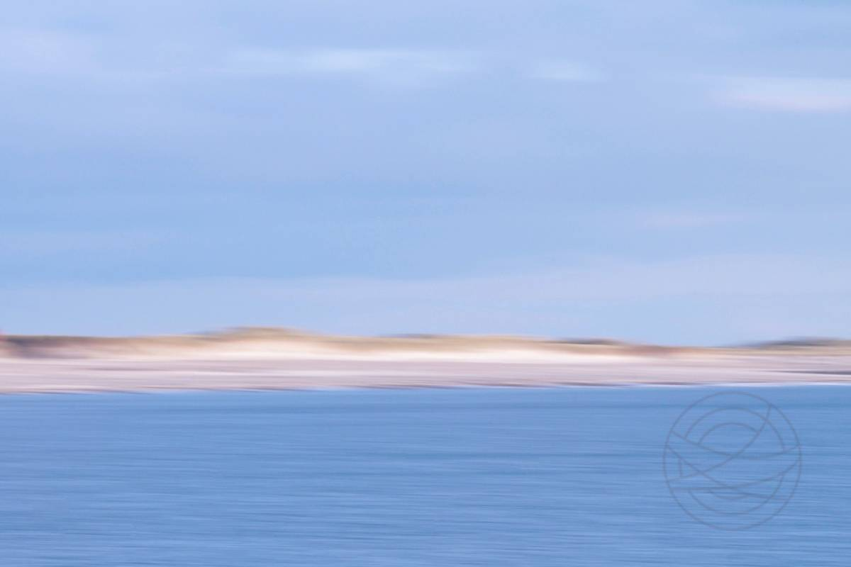 Golden Dunes Of Amber - Abstract realistic fine art seascape photography by Jacob Berghoef
