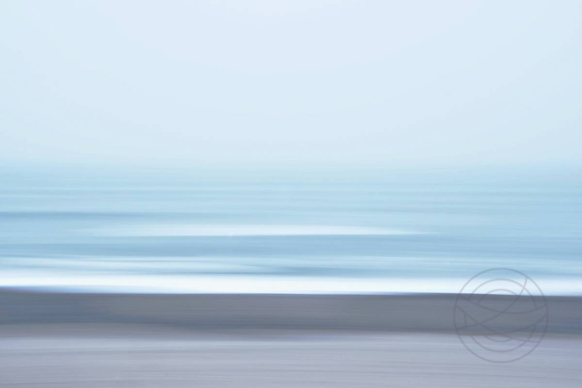 Haze of Silence - Abstract realistic fine art seascape photography by Jacob Berghoef