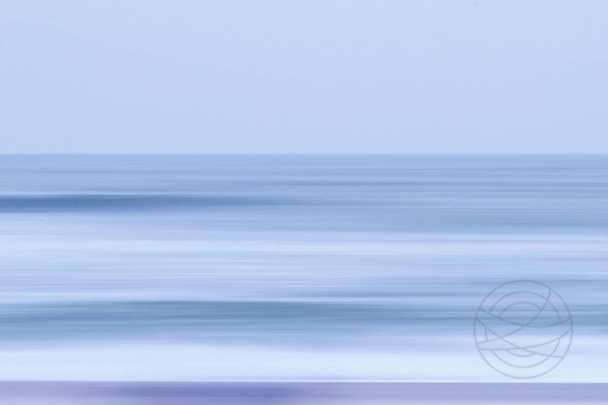 Shivering Sea - Abstract realistic fine art seascape photography by Jacob Berghoef