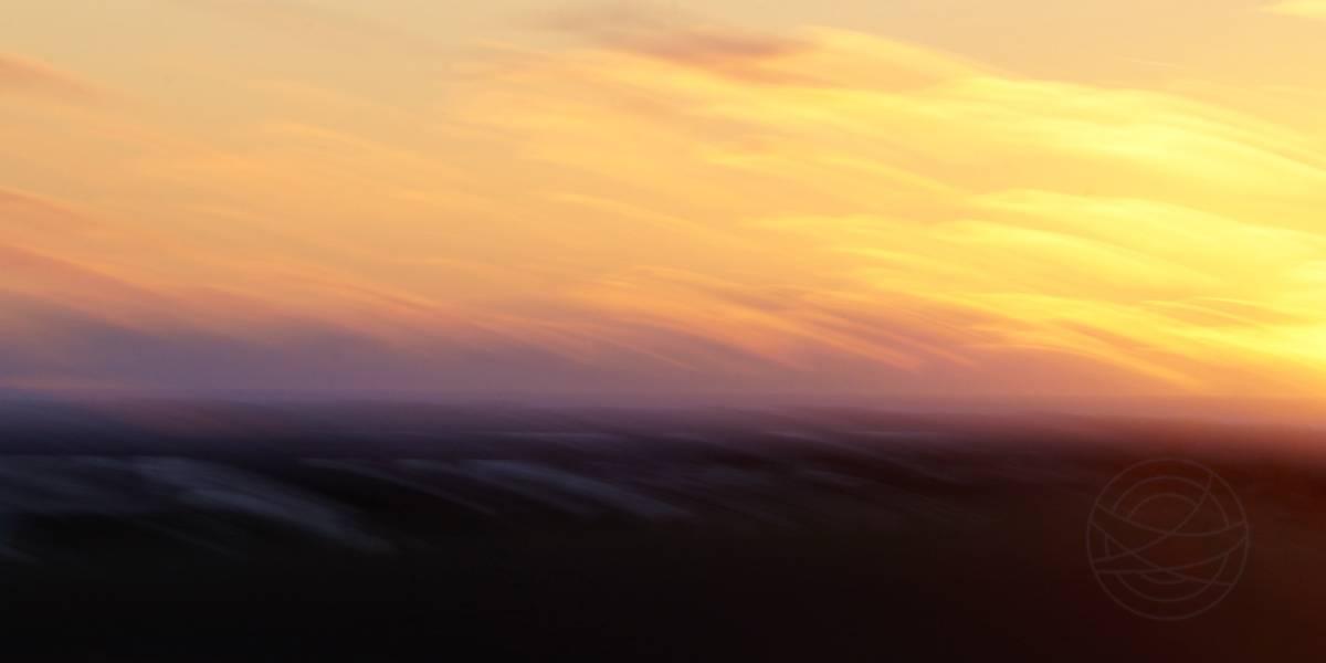 Autumn Sunset (7) - Abstract realistic fine art landscape photography by Jacob Berghoef