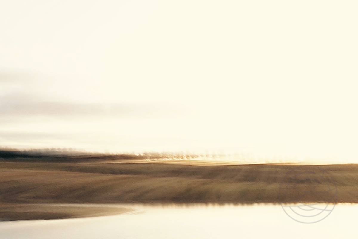 Beyond The Horizon, Behind The Sun - Abstract realistic fine art landscape photography by Jacob Berghoef