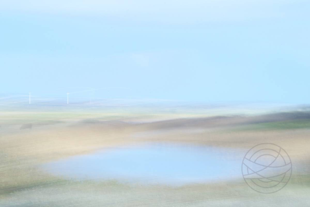 Fading Marshes - Abstract realistic fine art landscape photography by Jacob Berghoef