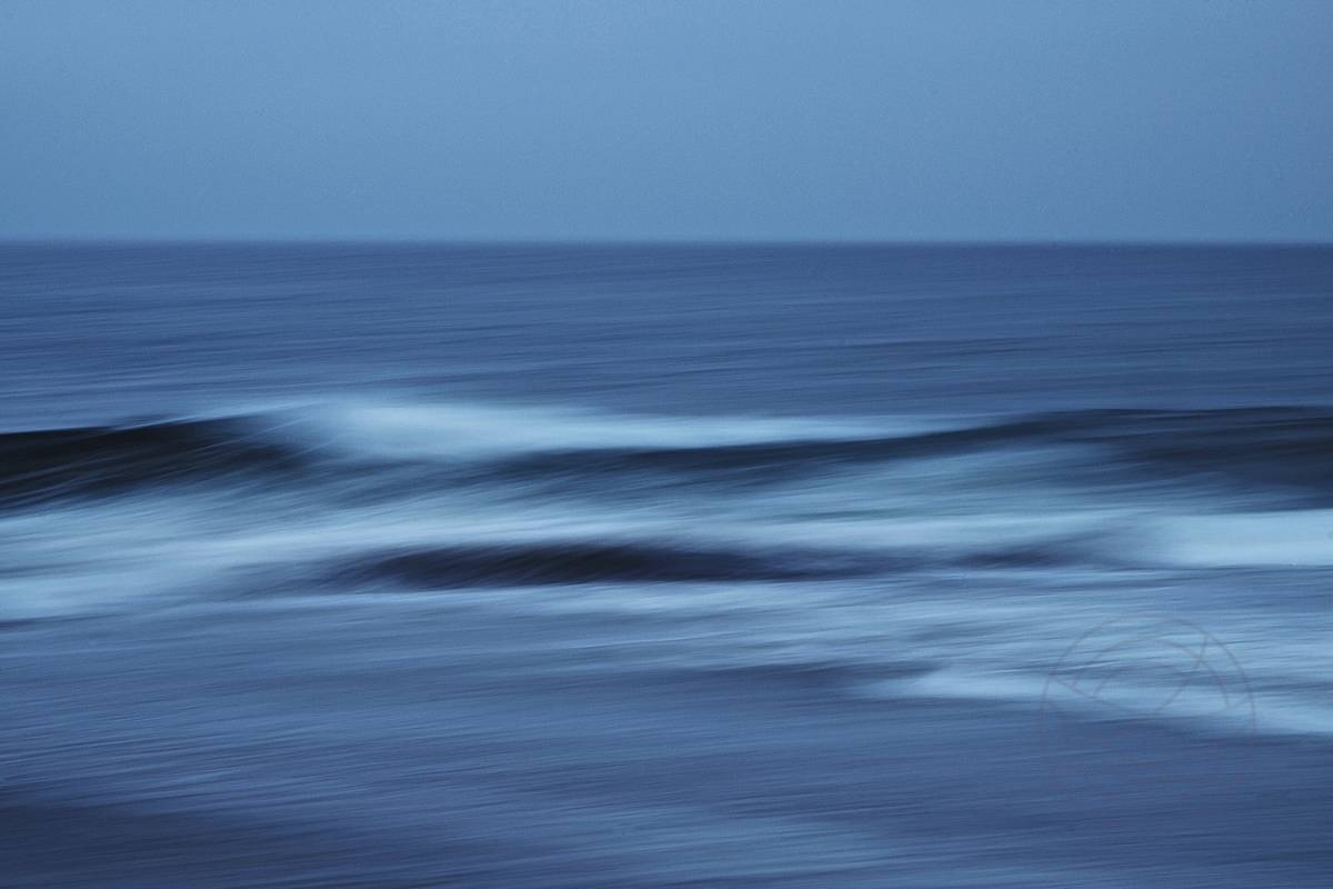 Brought Ashore By The Dark Of Time (2) - Abstract realistic fine art seascape photography by Jacob Berghoef