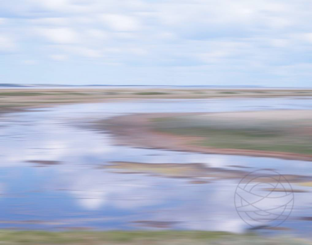 Reflection Of Stillness (2) - Abstract realistic fine art landscape photography by Jacob Berghoef