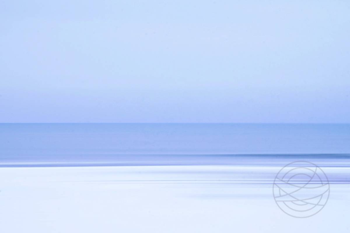 White Dawn - Abstract realistic fine art seascape photography by Jacob Berghoef