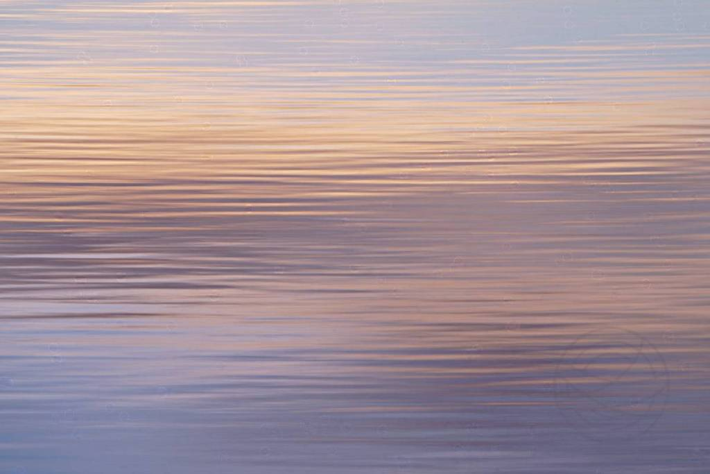 Colors Drowning - Abstract realistic fine art seascape photograph by Jacob Berghoef