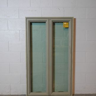 Matt bronco aluminium casement window