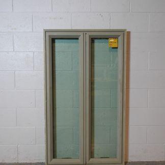 Matt bronco aluminium casement window