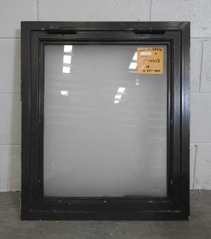 steel frame awning fire window with 5mm obscure pyran glass