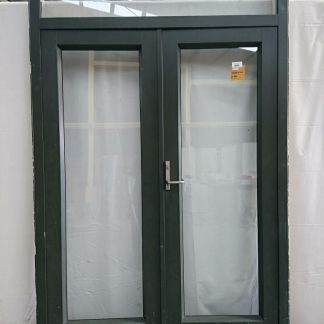 Karaka green Aluminium French doors