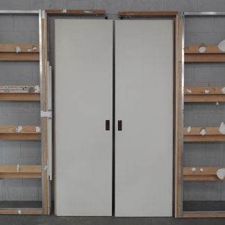 Large double door cavity slider