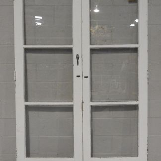 Wooden (cedar) French doors - unhung