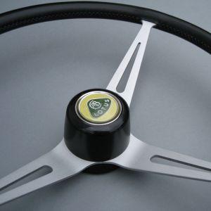 Lotus Elan steering wheels with boss & NOS New Old Stock Lotus horn push button