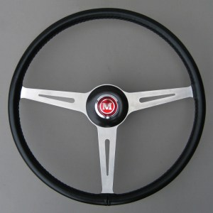 BMC Works Mini Cooper MK1 Springall Steering Wheel