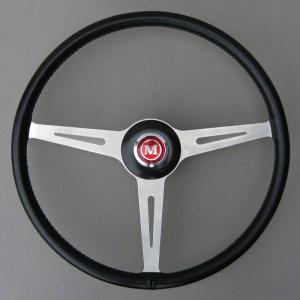 BMC Works Mini Cooper MK1 Springall Steering Wheel - Mini Mk1 Steering Wheel