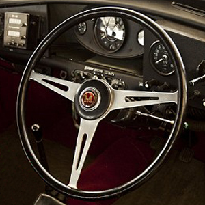 Austin Morris Mk1 Mark 1 Mini Cooper S Steering Wheel