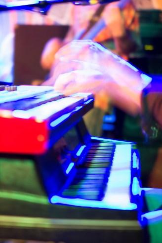 Bob Culver plays the piano.