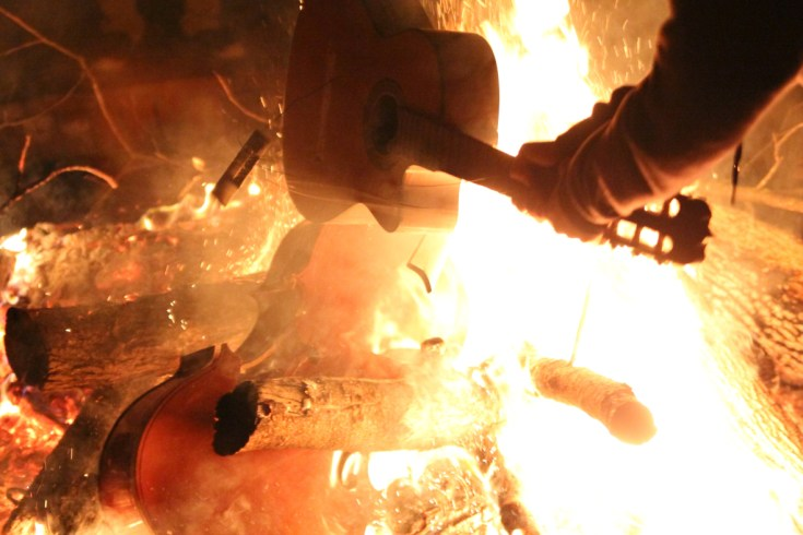 Burning of the Instruments