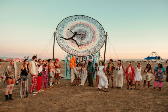 Wedding at burning man afrikaburn