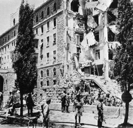 On July 22, 1946, under the leadership of Menachem Begin, the paramiliarty gang Irgun Zvai Leumi blew up the presitgious King David Hotel, where my brother Mihran was working.