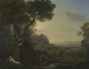 Landscape with Narcissus and Echo