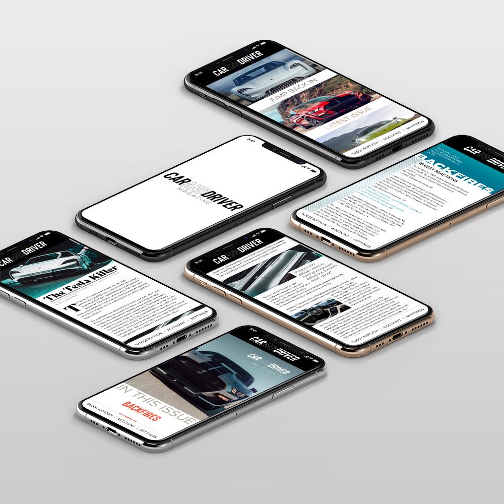 App Mockup Web