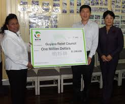 bai shan lin guyana prime minister sam hinds wife accepts one milion