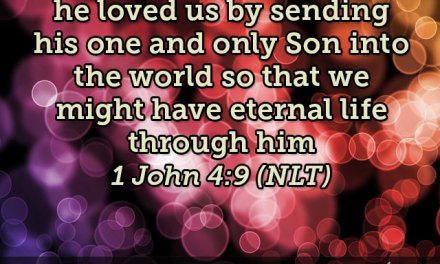 Today's Verse Straight from the Source: 1 John 4:19