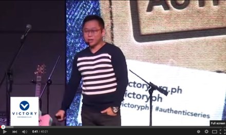 Teaching of the Day: Chinkee Tan's Authentic