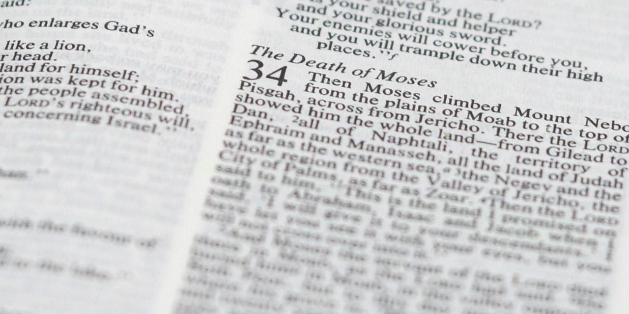 Who Wrote Deuteronomy 34?
