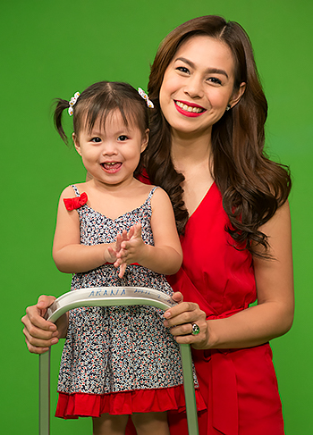 Betinna with daughter Gummy shot last 2013 by Jacob's Fountain publisher Edwin Arceo