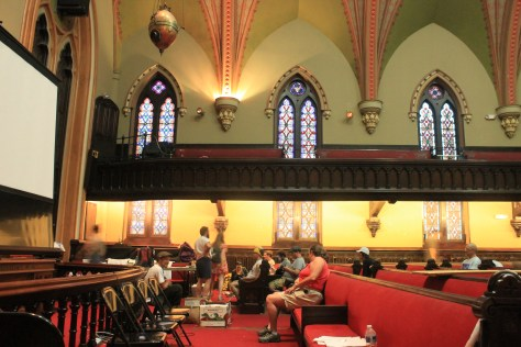 The incredible Methodist church that opened its doors to protesters