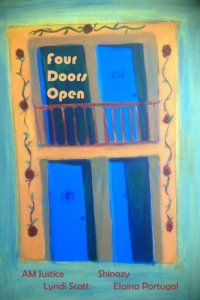 Four Doors Open by AM Justice, Shinazi, Lyndi Scott, Elaina Portugal