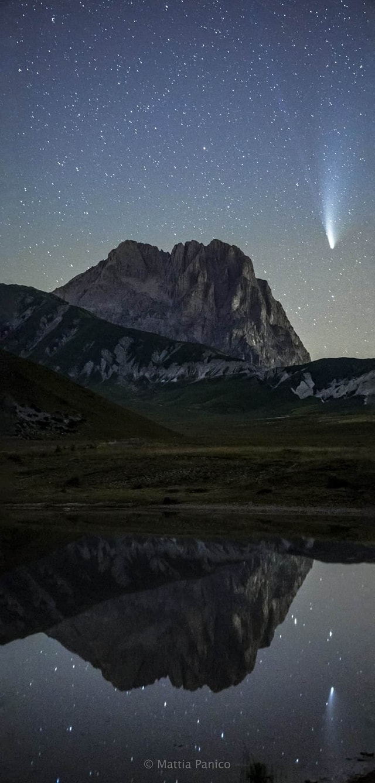 Il mio amico Mattia Panico ha fotografato la stella che ha commosso il web