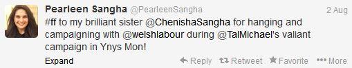 Sangha tweet